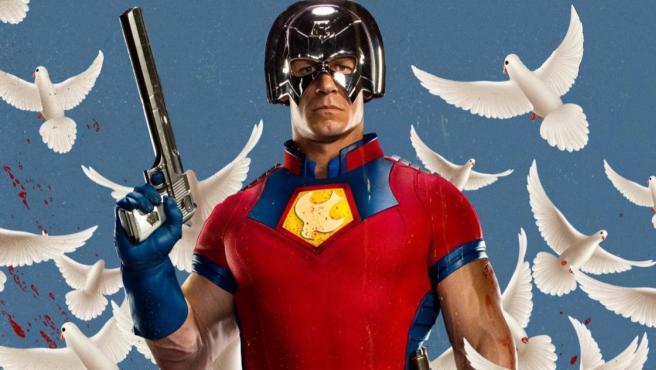 John Cena como Peacemaker en 'El Escuadrón Suicida'