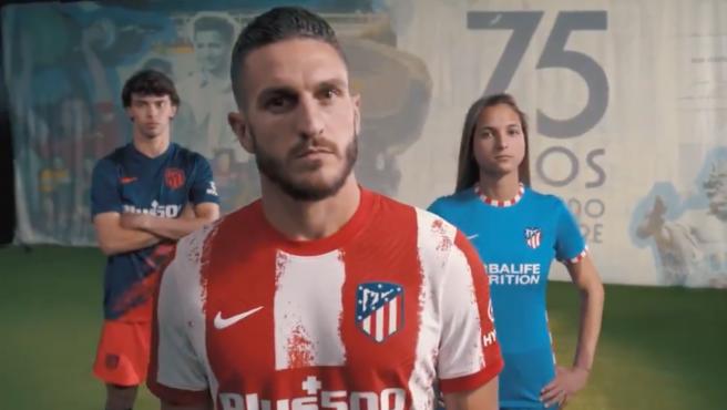 Las nuevas equipaciones del Atlético de Madrid