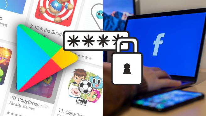 Las apps robaban las credenciales de inicio de sesión de Facebook de los usuarios.