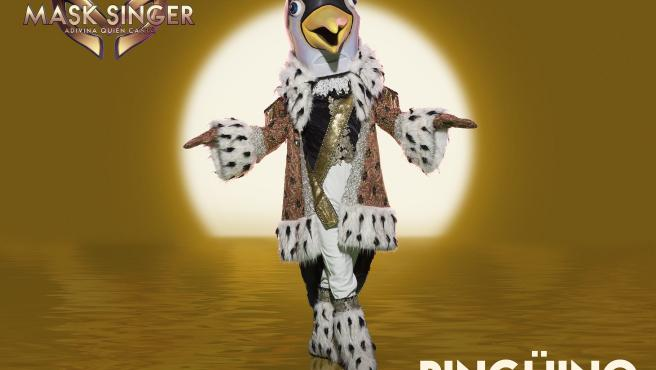 Pingüino, la primera máscara invitada de 'Mask Singer 2'