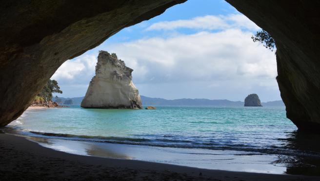 La playa de Las Catedrales es una de las más famosas de Galicia.