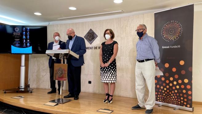 Reus (Tarragona) entrega los premios Gaudí Gresol al Barça femenino, Llucia Ramis y Marina Rossell