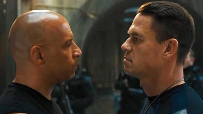 Vin Diesel y John Cena en 'Fast & Furious 9'