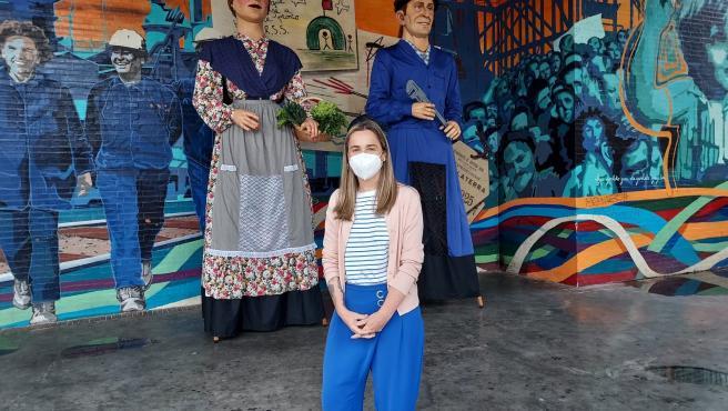 Barakaldo estrena sus dos primeros gigantes municipales con un recorrido por los barrios a partir del lunes