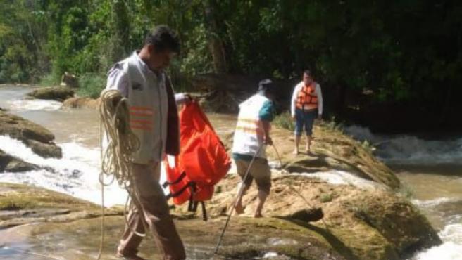 Hallan el cuerpo de una turista portuguesa que cayó en las Cascadas de Agua  Azul de México