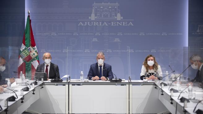 """El lehendakari recomienda a los ciudadanos usar la mascarilla """"en todo momento"""""""