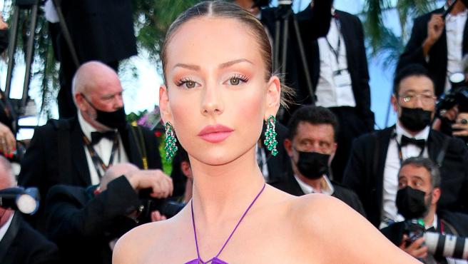 Ester Expósito en el festival de Cannes del 2021.