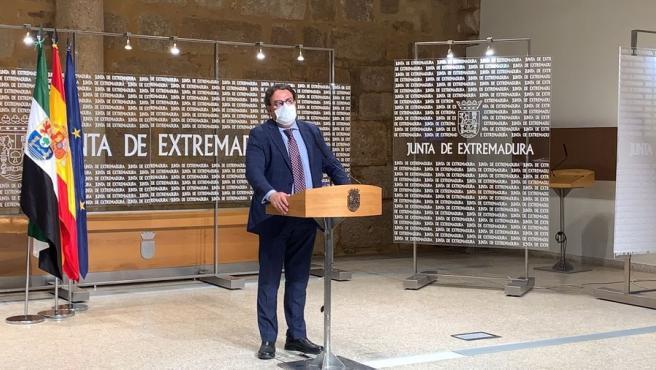 """Extremadura sigue en nivel 1, con tendencia """"creciente"""" de la incidencia y hospitalizaciones """"muy controladas"""""""