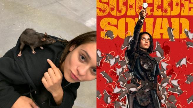 Daniela Melchior en el Twitter de James Gunn y el póster de Ratcatcher 2