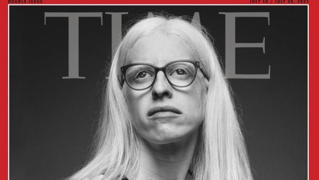 La doctora Rodríguez Galcio en la portada de Time.