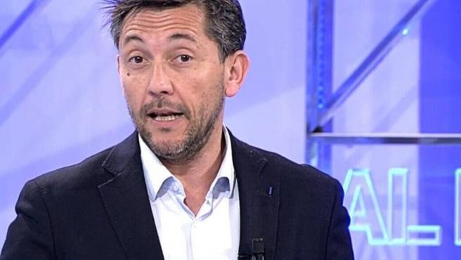 El periodista Javier Ruiz, en Cuatro.