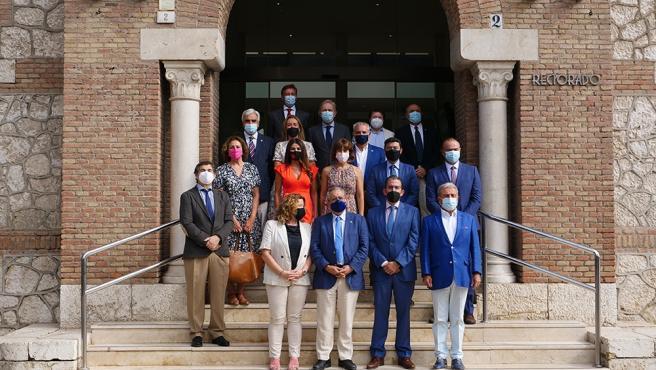 La UMA presenta el 'Aula de mecenazgo del Cuerpo Consular acreditado en Málaga'