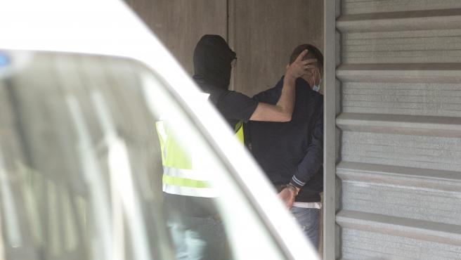 A Coruña Detenidos por el  asesinato de Samuel Luiz Muñiz entran al Juzgado 09/07/2021 Foto: M. Dylan / Europa Press