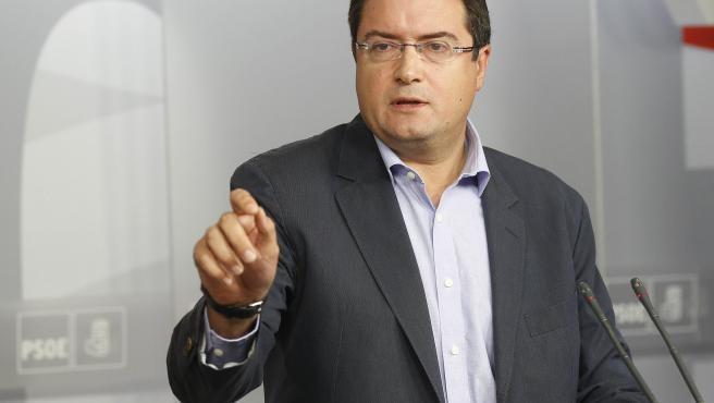 Óscar López, nuevo jefe de gabinete del presidente Sánchez, en una fotografía tomada en 2012.