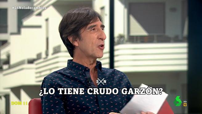 Benjamín Prado, en 'La Sexta noche'.