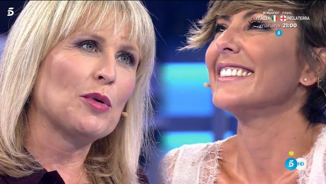 María Rey y Sonsoles Ónega, en 'Volverte a ver'.