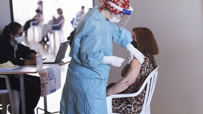 31/3/21  SANTANDER  ep vacunacion masiva santander    FOTO: JUAN MANUEL SERRANO ARCE