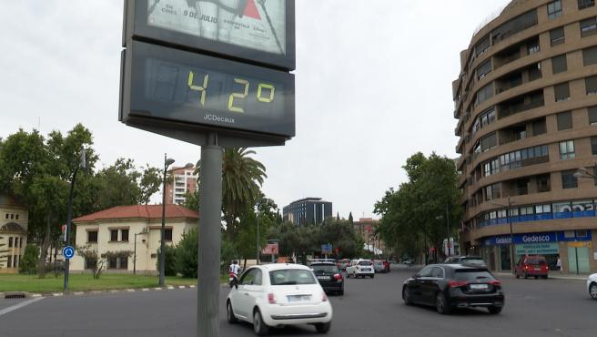 Alerta roja por ola de calor en gran parte de la Comunidad Valenciana