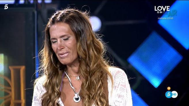 Lara Sajén, en 'Supervivientes: Conexión Honduras'.