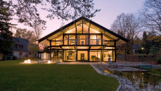 Casa prefabricada de Antonio Banderas, Huf Haus