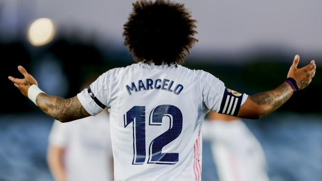 El jugador del Real Madrid, Marcelo