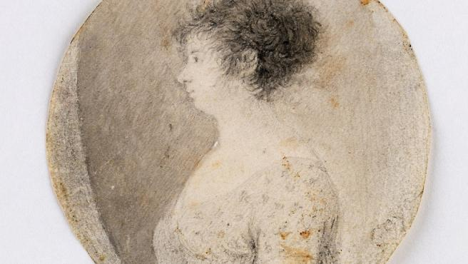 La UdL saca a la luz un retrato a lápiz inédito de Francisco de Goya