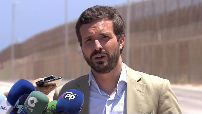 """Casado pide que Ceuta y Melilla estén en el """"paraguas defensivo"""" de la OTAN"""