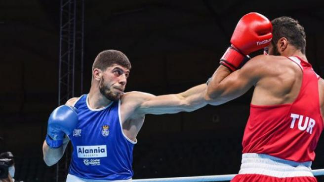 Gazi Jalidov, el boxeador que irá a los Juegos Olímpicos de Tokio.
