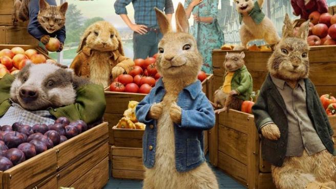 Fotograma de 'Peter Rabbit 2: A la fuga'