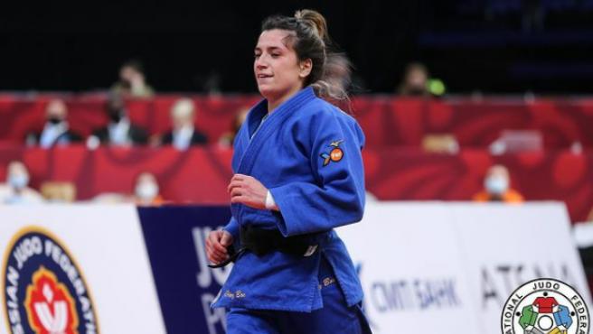 Ana Pérez Box, la judoka que participará en las olimpiadas de Tokio.