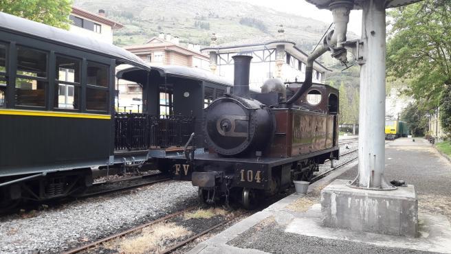 El Museo Vasco del Ferrocarril pondrá en circulación tres trenes de vapor este fin de semana