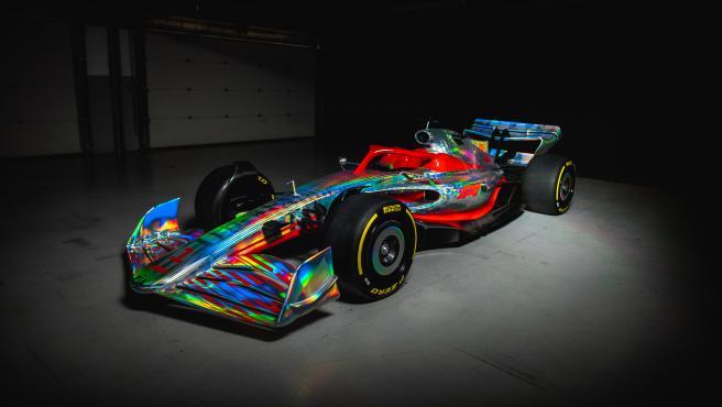 Monoplaza de Fórmula 1 según la normativa de 2022