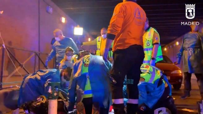 Fallece un joven en Madrid a causa de cuatro heridas por arma blanca