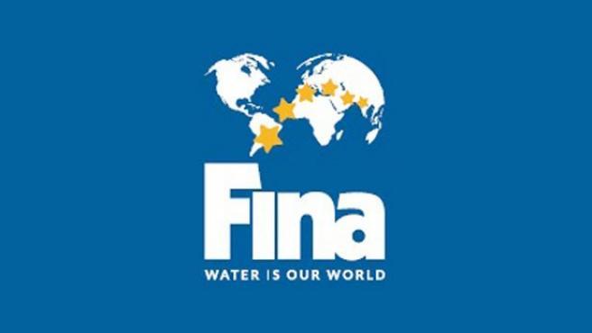 Logo de la Federación Internacional de Natación (FINA).