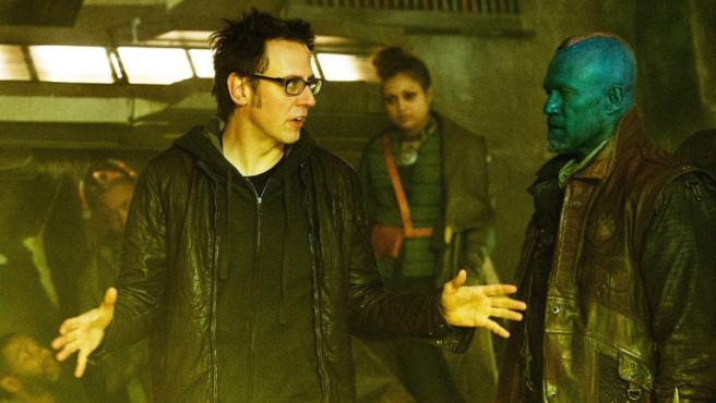 James Gunn en el rodaje de 'Guardianes de la galaxia Vol. 2'