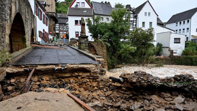 Lluvias torrenciales y tormentas en Alemania