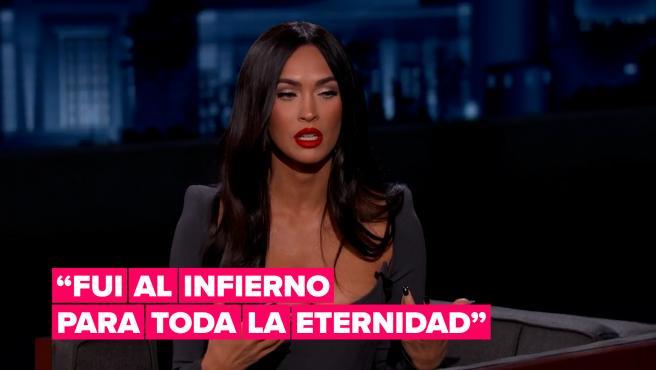 Megan Fox cuenta que su experiencia con la ayahuasca fue como estar en el infierno para siempre