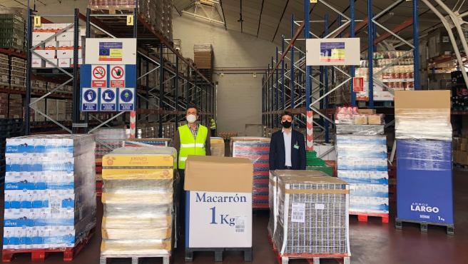 Mercadona dona 7.800 kilos de productos de primera necesidad al Banco de Alimentos de La Rioja