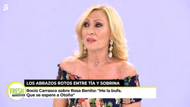 Rosa Benito interviene en 'Ya es mediodía'.