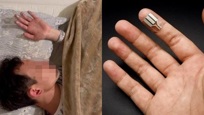 Convierte el toque de un dedo en una fuente de energía para pequeños sensores y dispositivos electrónicos.