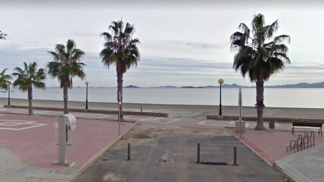 Playa de Los Narejos, en Los Alcázares, Murcia.
