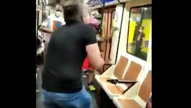 Así se produjo la agresión en el Metro de Madrid.