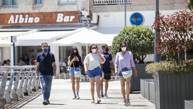 Galicia supera los 10.000 casos activos de covid y suma 23 nuevos hospitalizados