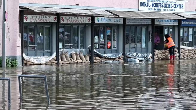 Algunas zonas de Alemania continúan devastadas por las inundaciones