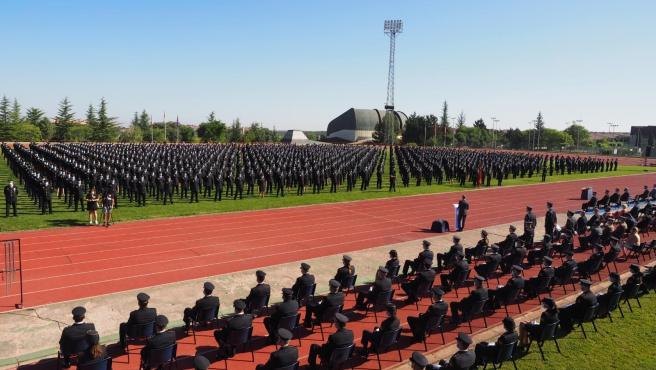 Marlaska anuncia un plan estratégico en la Policía Nacional con un centro universitario con sede en Ávila
