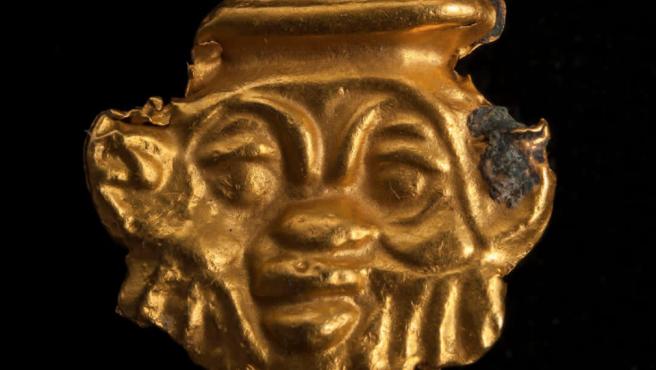 Objeto encontrado en la expedición anglo-francesa