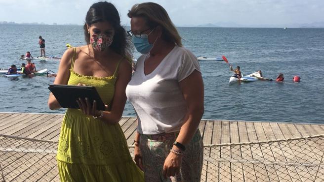 Ocho cámaras y cinco estaciones meteorológicas permiten conocer el estado del Mar Menor en tiempo real