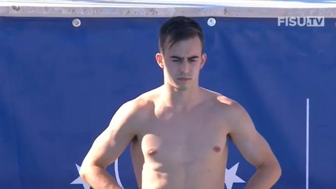 Alberto Arévalo, el saltador que irá a los Juegos Olímpicos 2020-2021.