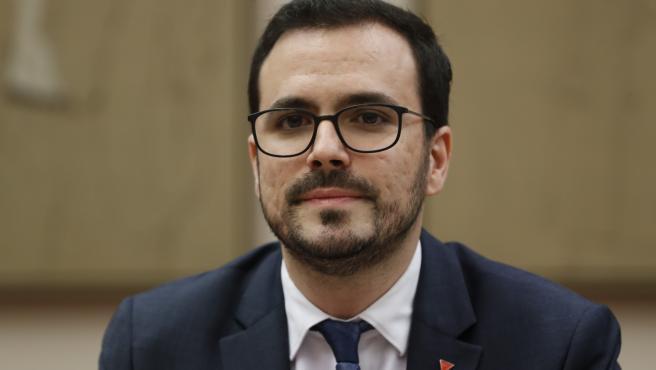 Alberto Garzón, ministro de Consumo.