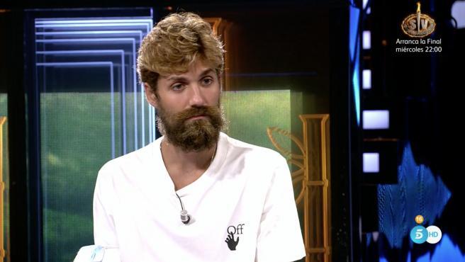 Alejandro Albalá, en 'Supervivientes 2021'.